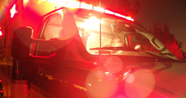 Two-Vehicle Crash on Interstate 10 Near Cherry Avenue [Rancho Cucamonga, CA]
