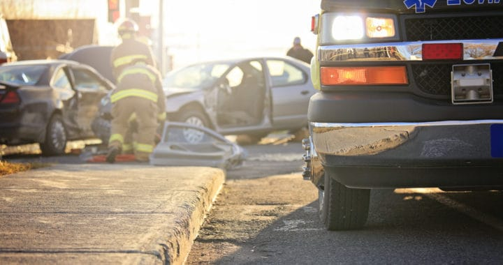 No Injuries Reported in Two-Vehicle Crash on Hilltop Drive and East Palisades Avenue [Redding, CA]