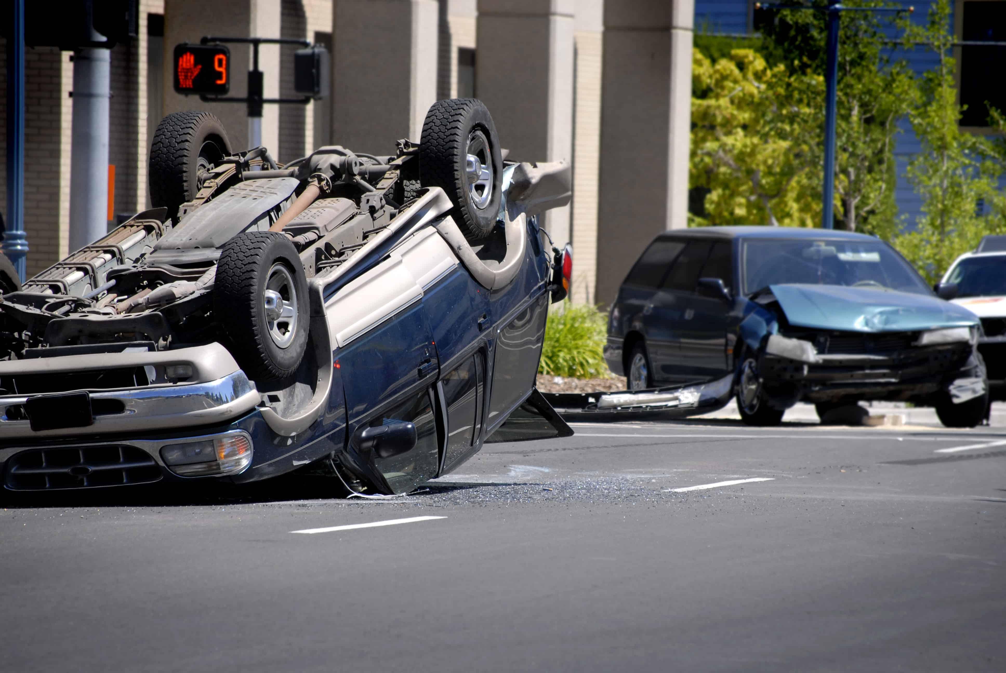 Interstate 5 Overturn Crash Kills David Hamilton [Bakersfield, CA]