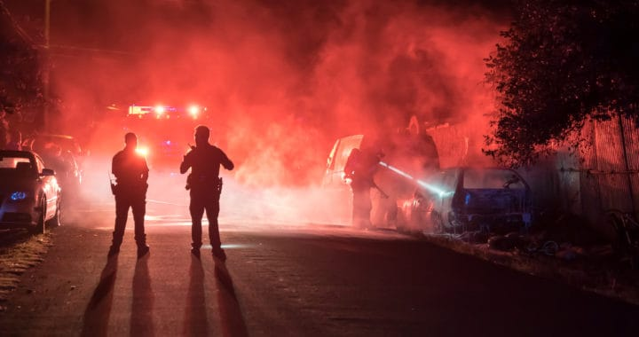 Police Officer Injured, Darwin Corrales Arrested After the Skid-Steer loader Crash on Pacheco Boulevard [Fresno, CA]