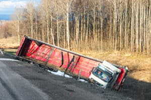 Driver and Passenger Injured in Big Rig Crash on Howell Mountain Road & White Cottage Road [Napa County, CA]