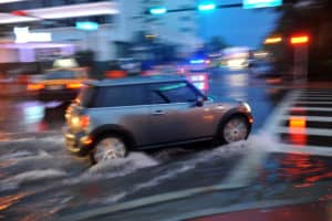 DUI Driver Hits Hydrant and Pedestrian on Hollywood Boulevard [Hollywood, CA]