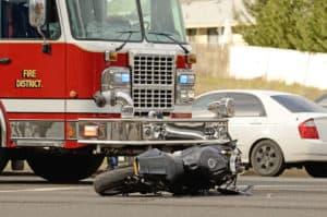 Crash on Lemmon Drive Involving Truck and Motorcycle Snarls Traffic [Reno, NV]