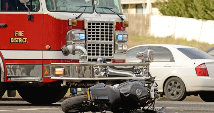 Motorcyclist Injured in Trash Truck Crash on Larkdale Avenue and Murray Ridge Road [San Diego, CA]