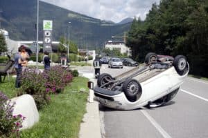 Vehicle Overturns in Multi-Vehicle Accident on Miller Road and Misty Oak Road [Valley Center, CA]