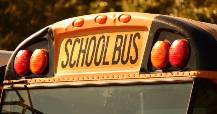 Edward Ellenz Arrested after Crashing into School Bus on Rowan Avenue [Spokane, WA]