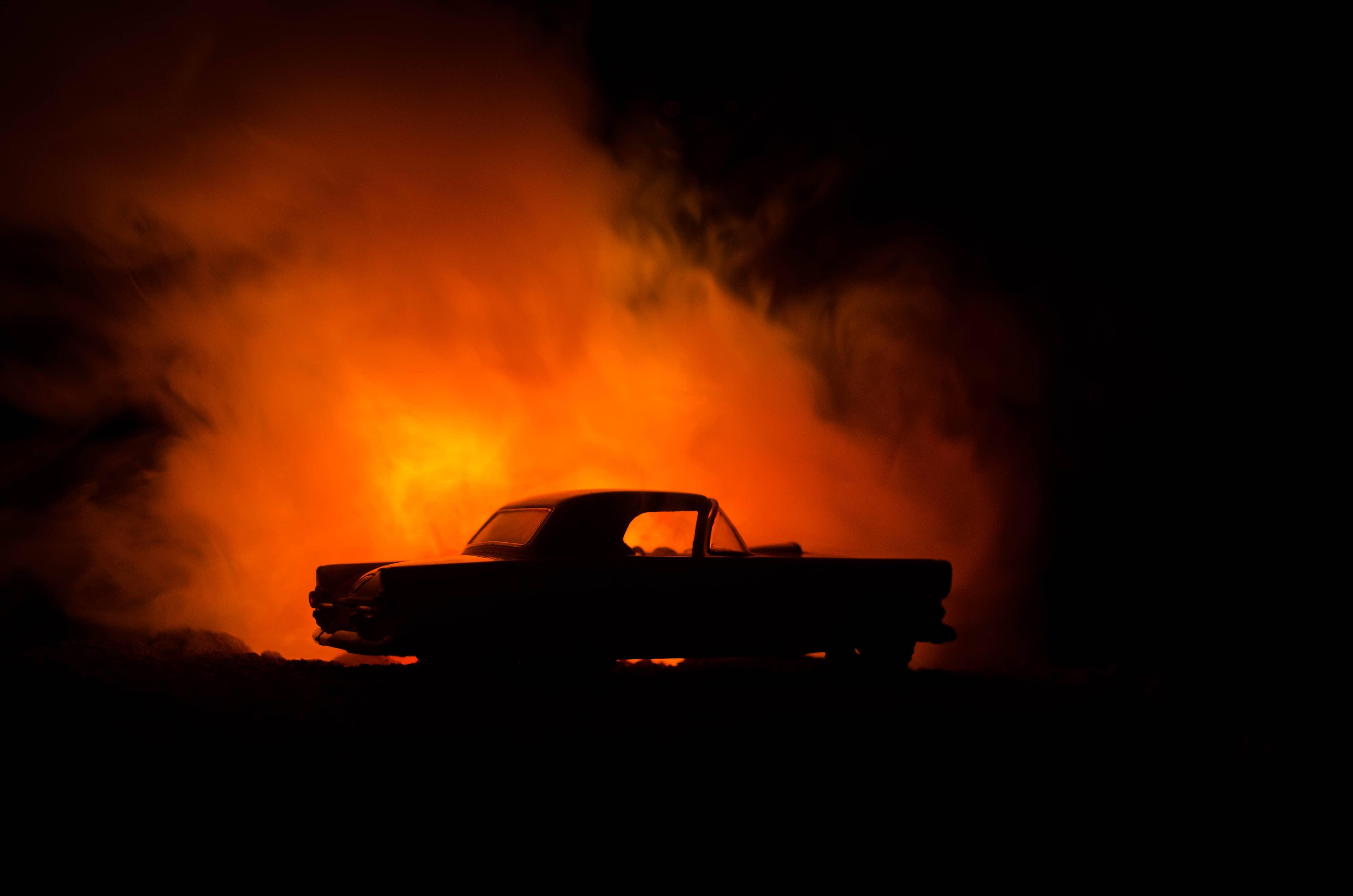 Driver Injured in Interstate 5 Fiery Vehicle Crash [Merced, CA]