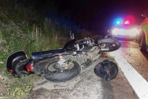 Motorcyclist Hospitalized after a Car Crash near Silverado Ranch Road [Las Vegas, NV]