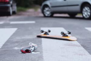 Skateboarder Injured after Hit by Car at Madison Avenue and Roseville Road [NORTH HIGHLANDS, CA]