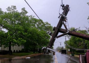 Power Outage Caused by Car Crash on Vernan Way [El Cajon, CA]