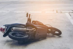 California Avenue Crash Left 1 Motorcyclist Hospitalized [Reno, NV]