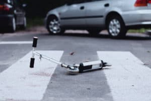 NATIONAL CITY, CA – Teen Injured in Scooter Crash With Car on East 30th Street Near Highland Avenue