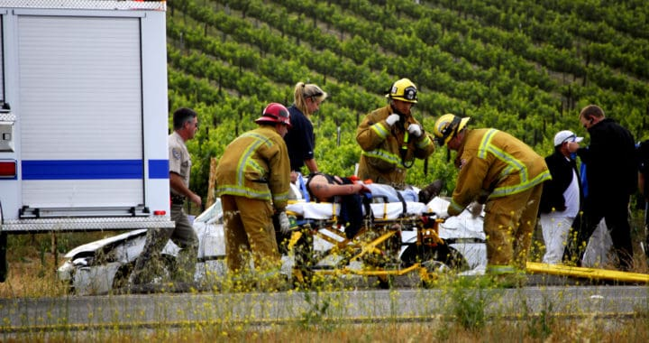 Passenger Dies, Driver Injured in Vehicle Crash on Paradise Valley Road [Spring Valley, CA]