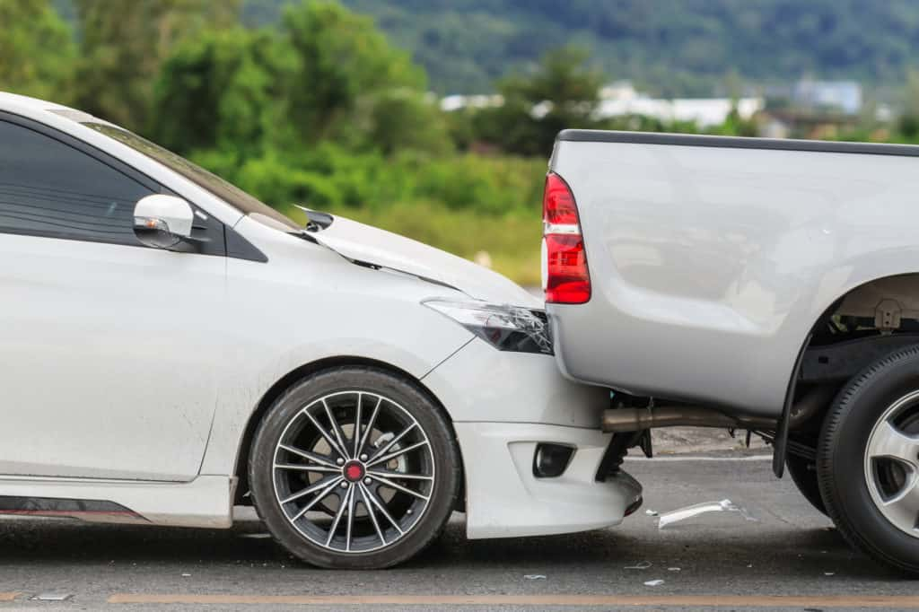 car accident on