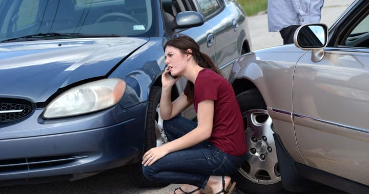 is an employer liable for an employee's car accident